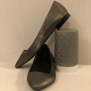 Calvin Klein women flats grey/silver